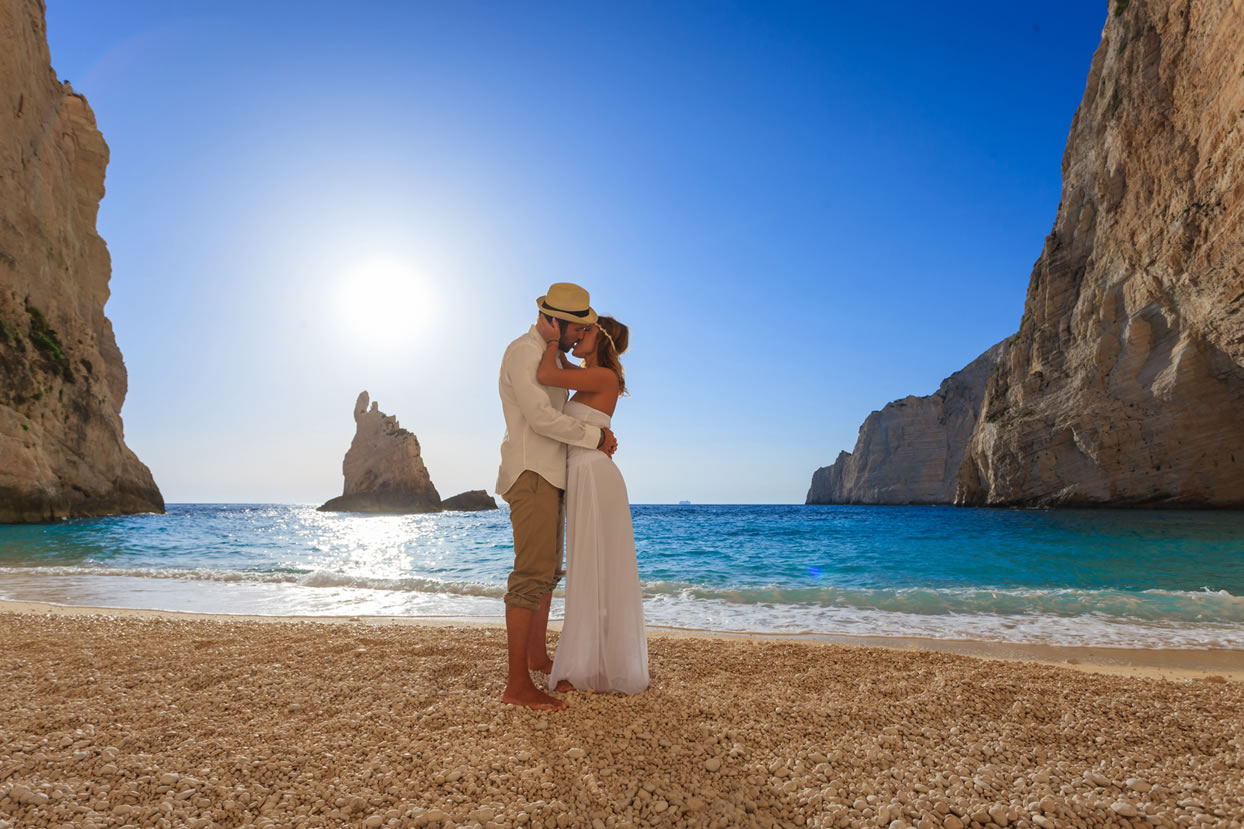 Weddings on the beach, Zakynthos