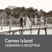 Weddings in Cameo island