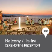 Weddings in Balcony Hotel, Tsilivi