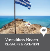 Vassilikos beach weddings