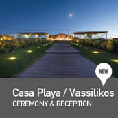 Weddings in Casa Playa Vassilikos