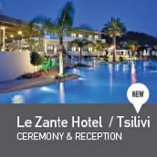weddings in LeZante Hotel Tsilivi